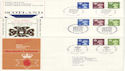 1980-07-23 Regional Definitive Stamps x3 SHS FDC (52799)