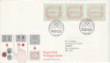 1984-05-01 Postage Labels Windsor FDC (52808)