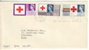 1963-08-15 Red Cross London WC Slogan FDC (52837)