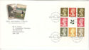 1995-04-25 National Trust Bklt Pane Tintagel FDC (52876)