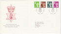 1991-12-03 N Ireland Definitive Stamps Belfast FDC (52888)