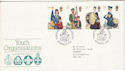 1982-03-24 Youth Orgs Stamps Glasgow FDC (52894)