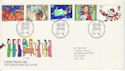 1981-11-18 Christmas Stamps Bethlehem FDC (52914)