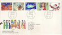 1981-11-18 Christmas Stamps Bethlehem FDC (52915)