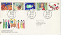 1981-11-18 Christmas Stamps Bethlehem FDC (52916)
