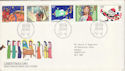 1981-11-18 Christmas Stamps Bethlehem FDC (52917)