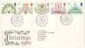 1980-11-19 Christmas Stamps Bethlehem FDC (52925)