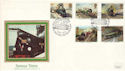 1985-01-22 Famous Trains Golden Arrow Dover FDC (52960)