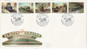 1985-01-22 Famous Trains Paddington Station FDC (52978)