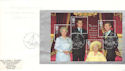 2000-08-04 Queen Mother Bkt Pane Clarence House FDC (53008)
