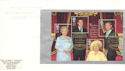 2000-08-04 Queen Mother Bkt Pane Clarence House FDC (53009)