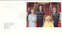 2000-08-04 Queen Mother M/Sheet Bureau FDC (53011)