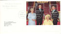 2000-08-04 Queen Mother M/Sheet Bureau FDC (53012)