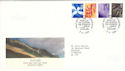 1999-06-08 Scotland Definitive Edinburgh FDC (H-53039)