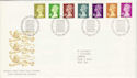 1991-09-10 Definitive Stamps Bureau FDC (H-53047)