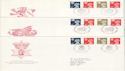 1990-12-04 Regional Definitive Stamps x3 FDC (H-53055)