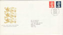1990-08-07 Definitive Booklet Stamps Windsor FDC (H-53059)
