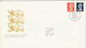 1990-08-07 Definitive Booklet Stamps Bureau FDC (H-53060)