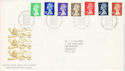 1990-09-04 Definitive Stamps Bureau FDC (H-53063)