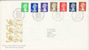 1990-09-04 Definitive Stamps Bureau FDC (H-53064)