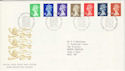 1990-09-04 Definitive Stamps Bureau FDC (H-53066)
