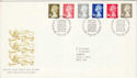 1993-10-26 Definitive Stamps Bureau FDC (H-53084)