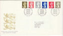 1993-10-26 Definitive Stamps Bureau FDC (H-53085)