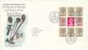 1983-09-14 Royal Mint Bklt Pane Bureau FDC (H-53114)