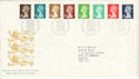 1988-08-23 Definitive Stamps Windsor FDC (H-53121)