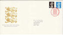 1989-08-22 Booklet Stamps Bureau FDC (H-53230)