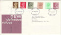 1982-01-27 Definitive Stamps Aberdeen FDI (H-53241)