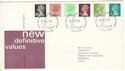 1980-01-30 Definitive Stamps Windsor FDC (H-53249)