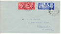 1951-05-03 KGVI Festival of Britain Barmby Moor cds FDC (53265)