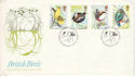 1980-01-16 British Birds Sandy Beds FDC (53278)