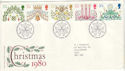 1980-11-19 Christmas Stamps Bethlehem FDC (H-53289)