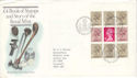 1983-09-14 Royal Mint Bklt Pane Bureau FDC (H-53307)