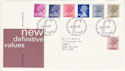 1983-03-30 Definitive Stamps Bureau FDC (H-53350)