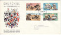 1974-11-22 IOM Churchill Centenary FDC (53453)