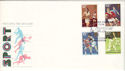 1980-10-10 Sport Stamps Leicester Football Club FDC (53649)