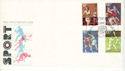 1980-10-10 Sport Stamps London Sportsmen FDC (53650)
