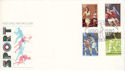 1980-10-10 Sport Stamps The Saints Northampton FDC (53657)
