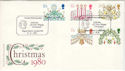 1980-11-19 Christmas Stamps Regent Street FDC (53659)