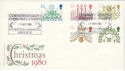 1980-11-19 Christmas Stamps Exhibition Warwick FDC (53661)