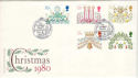 1980-11-19 Christmas Stamps Norway's Gift London FDC (53662)
