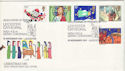 1981-11-18 Christmas Stamps Leicester Cathedral FDC (53704)
