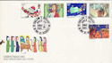 1981-11-18 Christmas Stamps Wembley FDC (53705)