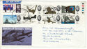 1965-09-13 Battle of Britain Stamps Aberdeen FDI (53743)
