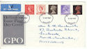 1967-06-05 Definitive + Wilding With Aberdeen FDI RARE? (53778)