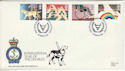 1981-03-25 Year of Disabled Stamps RNLI FDC (53808)