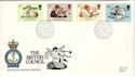 1984-09-25 British Council Stamps RNLI FDC (53814)